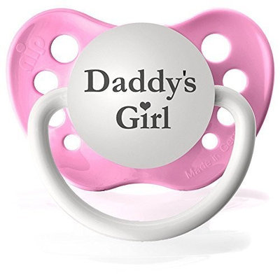 Personalized Pacifiers Daddy's Girl (Pink) Pacifier