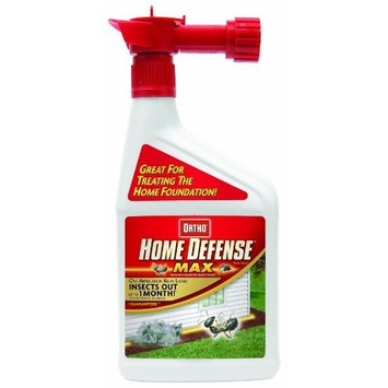 The Scotts Company Ortho 0193010 Home Defense MAX Outdoor Perimeter Insect Killer Hose End Sprayer, 32-Ounce (Discontinued by Manufacturer)