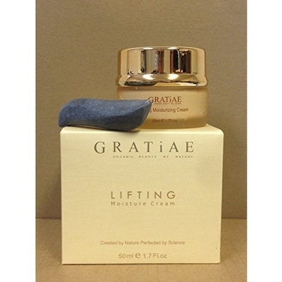 Gratiae Organics Lifting Moisture Cream 1.7 Fl.oz with Volcanic Stone