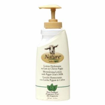 Nature by Canus Moisturizing Lotion with Fresh Goat's Milk, Fragrance Free, 11.8 oz
