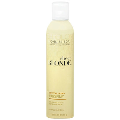 John Frieda Sheer Blonde Crystal Clear Shape & Shimmer Hairspray for All Blondes