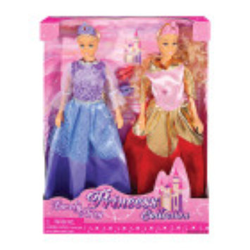 Dollar General Lovely Patsy Princess Doll Collection - 2pk - Assorted Styles