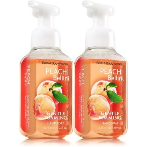 Bath & Body Works Gentle Foaming Hand Soap Peach Bellini