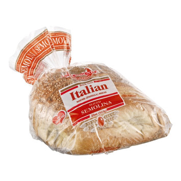 Paramount Bakeries Brick Oven Sliced Semolina Italian Round Bread