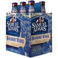 Samuel Adams Blackberry Witbier Beer, 12 oz, 6 count