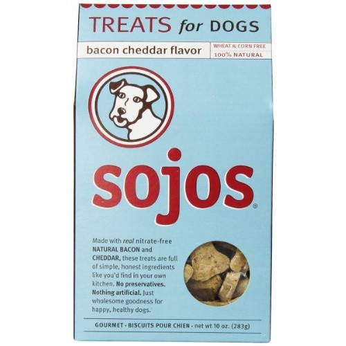Sojos Dog Treats, 10 Ounce Bag