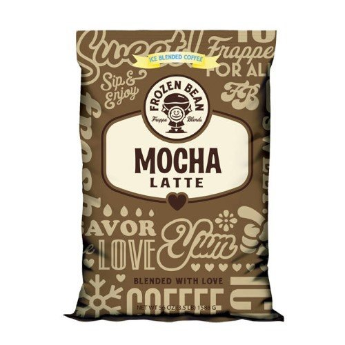 Frozen Bean Mocha Latte Mix (Case of 5)