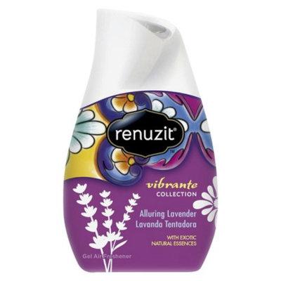 Renuzit Vibrante Collection Gel Air Freshener Alluring Lavender 7 oz