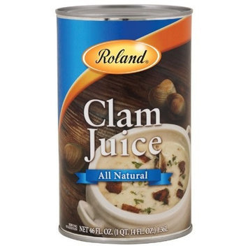 Roland Clam Juice, 46-Ounce Cans (Pack of 2)
