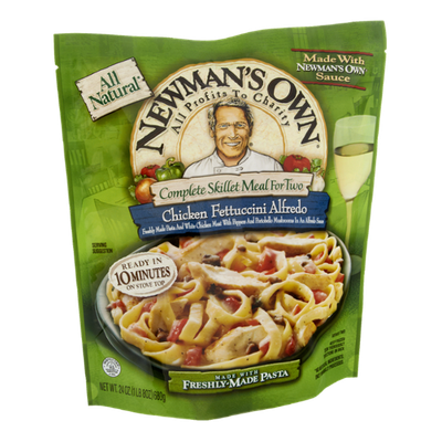 Newman's Own Chicken Fettuccini Alfredo Complete Skillet Meal For Two