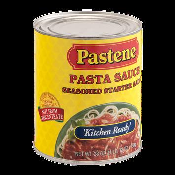 Pastene Pasta Sauce Seasoned Starter Sauce Kitchen Ready'
