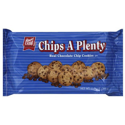 Generic Rippin' Good Chips A Plenty Real Chocolate Chip Cookies, 13.72 oz, (Pack of 12)