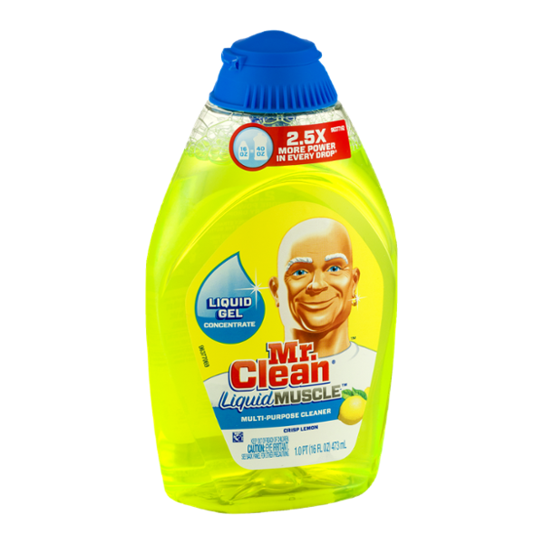 Mr. Clean Liquid Muscle Multi-Purpose Cleaner Crisp Lemon