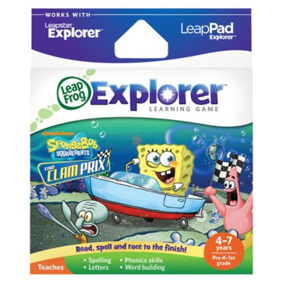 LeapFrog Explorer Learning Game - SpongeBob SquarePants - The Clam