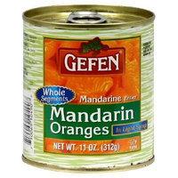 Gefen Fruit Mandarin Oranges Segments, 11-ounces (Pack of 24)