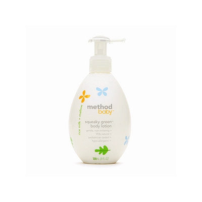 method baby Squeaky Green Body Lotion