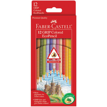 Faber-castell Faber-Castell 12ct GRIP Colored EcoPencils