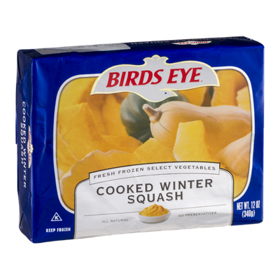 Birds Eye Cooked Winter Squash