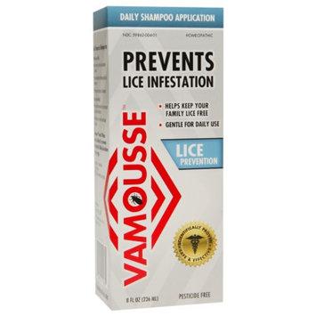 Vamousse Lice Prevention Daily Shampoo Application, 8 fl oz