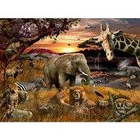 Ravensburger Animal Planet Safari Friends 100 Pcs Ages 3+
