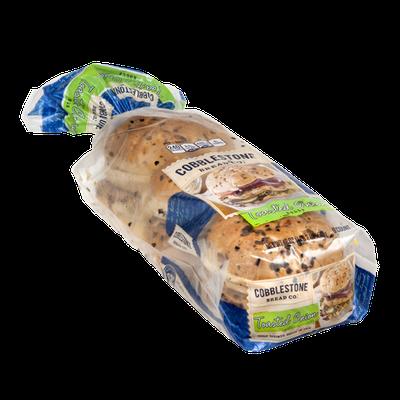 Cobblestone Bread Co. Rolls Toasted Onion - 6 CT