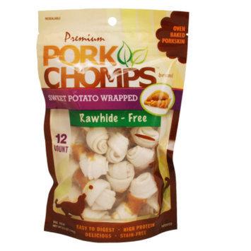 Pork Chomps Mini Knot Bone Dog Treat