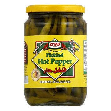 Ziyad Hot Pepper Pickled 12 Oz Pack Of 6