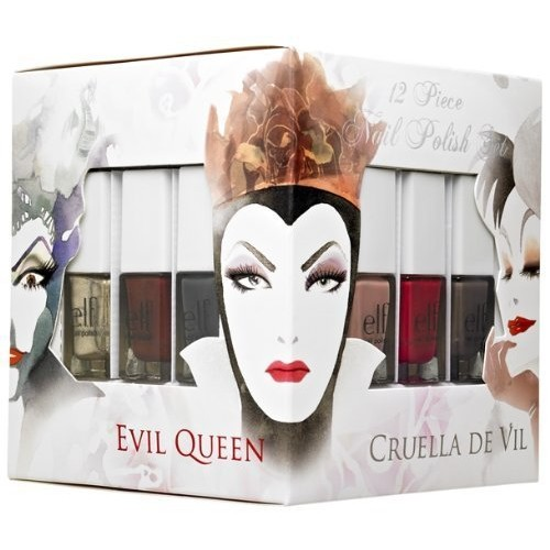 e.l.f. Cosmetics Disney Villains 12 Piece Nail Polish Set