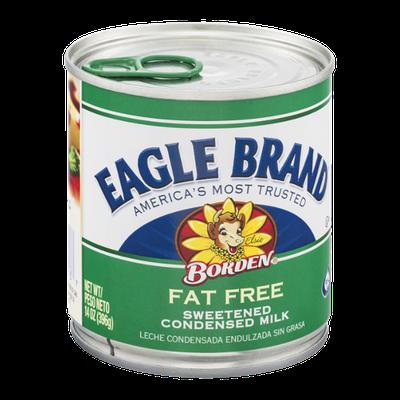 Eagle Brand Borden Sweetened Condensed Milk Fat Free