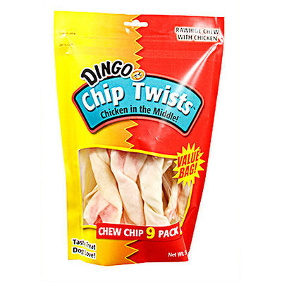 Dingo Chip Twists, 9 Pack