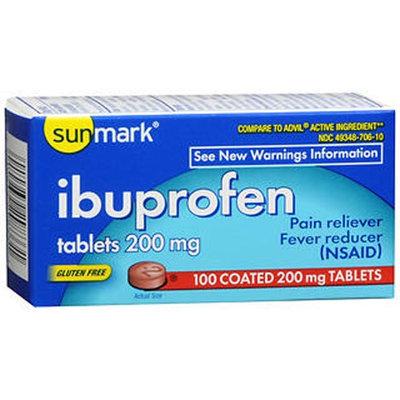 Sunmark Ibuprofen, 200 mg, 100 tabs by Sunmark