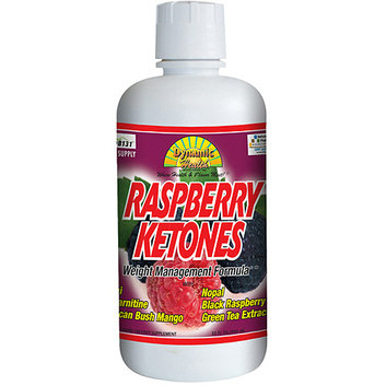 Dynamic Health Raspberry Ketones Juice Blend Liquid Dietary Supplement