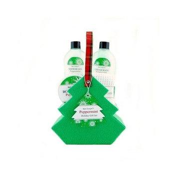 Bain D'Esprit Christmas Holiday Peppermint Spa Set