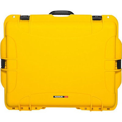 NANUK 960 Case With Padded Divider Yellow - NANUK Camera Cases