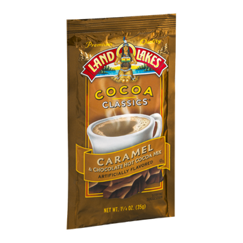 Land O'Lakes Cocoa Classics Hot Cocoa Mix Pack Caramel & Chocolate