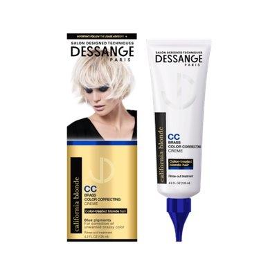 DESSANGE Paris California Blonde Brass Color Correcting Creme