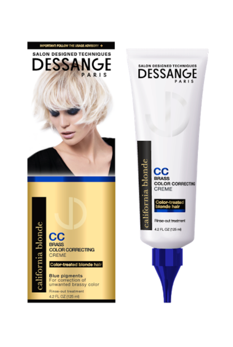 Dessange Paris California Blonde Brass Color Correcting