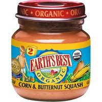 Earth's Best Organic Baby Food, Corn & Butternut Squash, 4 Ounce (Pack of 12)
