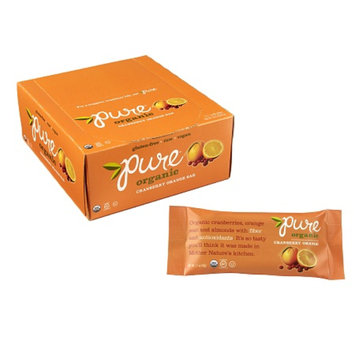 Pure Organic Raw Fruit & Nuts Bars Cranberry Orange