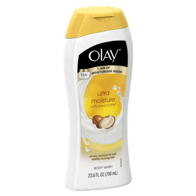 Olay Ultra Moisture Moisturizing Body Wash with Shea Butter 23.6 Oz