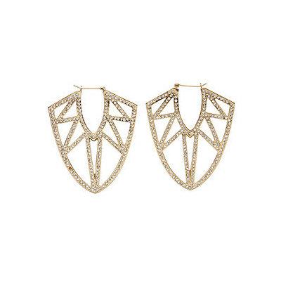 CC SKYE Pave Femme Fatale Earrings