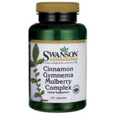 Swanson Premium Cinnamon Gymnema Mulberry Complex 120 Caps
