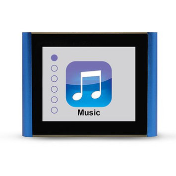 Mach Speed Eclipse V180 8GB MP3 and Video Player, 1.8 Color Display, Clip-On Design, Blue