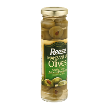 Reese Olives Manzanilla Stuffed With Minced Pimiento