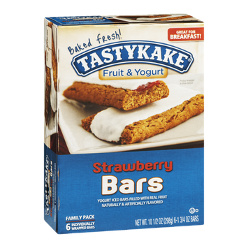 Tastykake® Fruit & Yogurt Bars Strawberry Family Pack