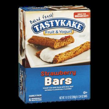 Tastykake Fruit & Yogurt Bars Strawberry Family Pack - 6 CT