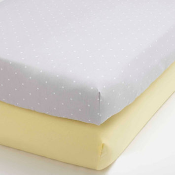 Child of Mine by Carter's Treetop Friends Set of 2 Fitted Crib Sheets