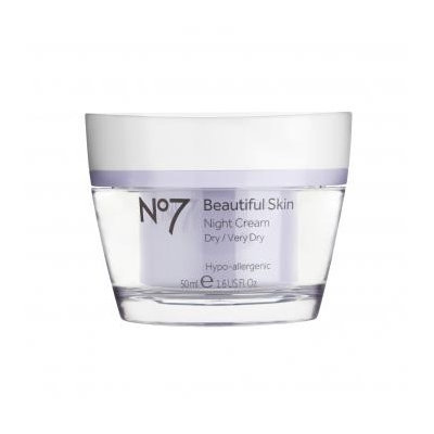 Boots No7  Beautiful Skin Night Cream Dry/Very Dry