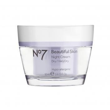 Boots No7  Beautiful Skin Night Cream Dry/Very Dry