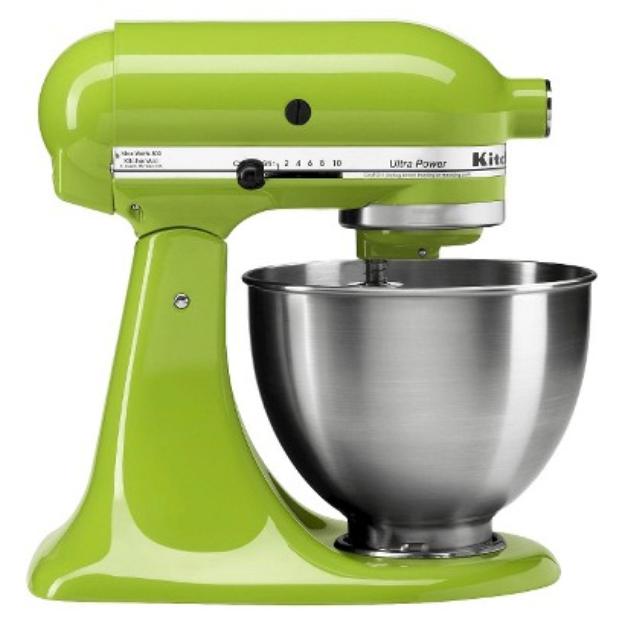 KitchenAid 4.5 qt. Ultra Power Stand Mixer - Green Apple